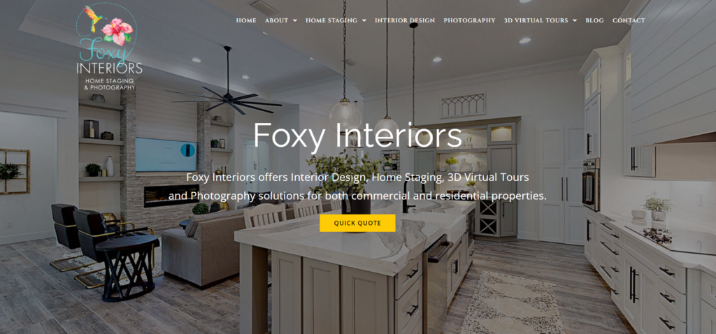 Foxy Interiors Home Staging and Photography