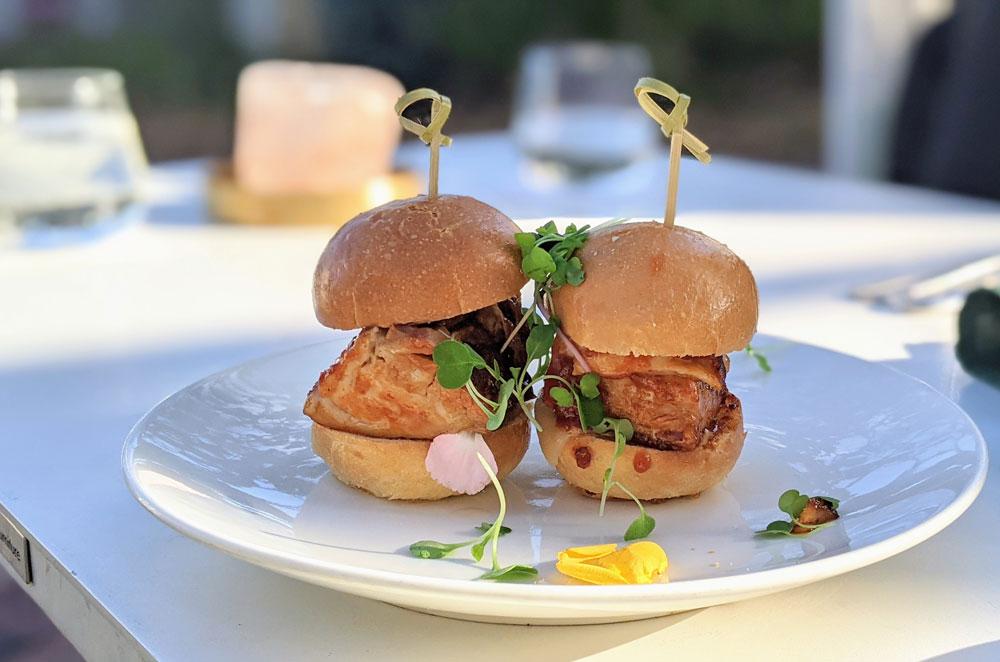 Pork Sliders at Salt7 Las Olas Fort Lauderdale